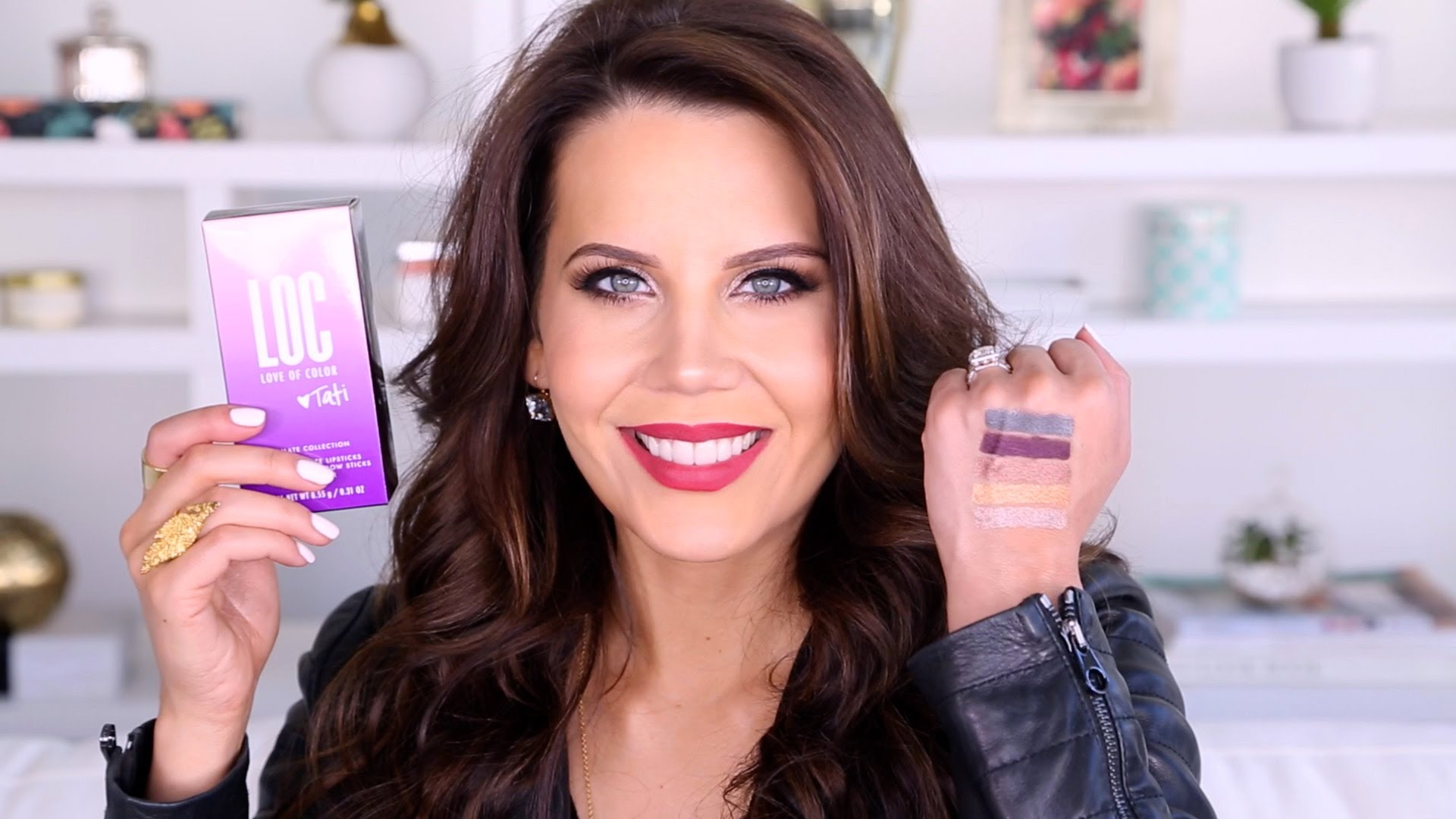 Tati's Top 5 Drugstore Makeup Favs Under $5 graphic
