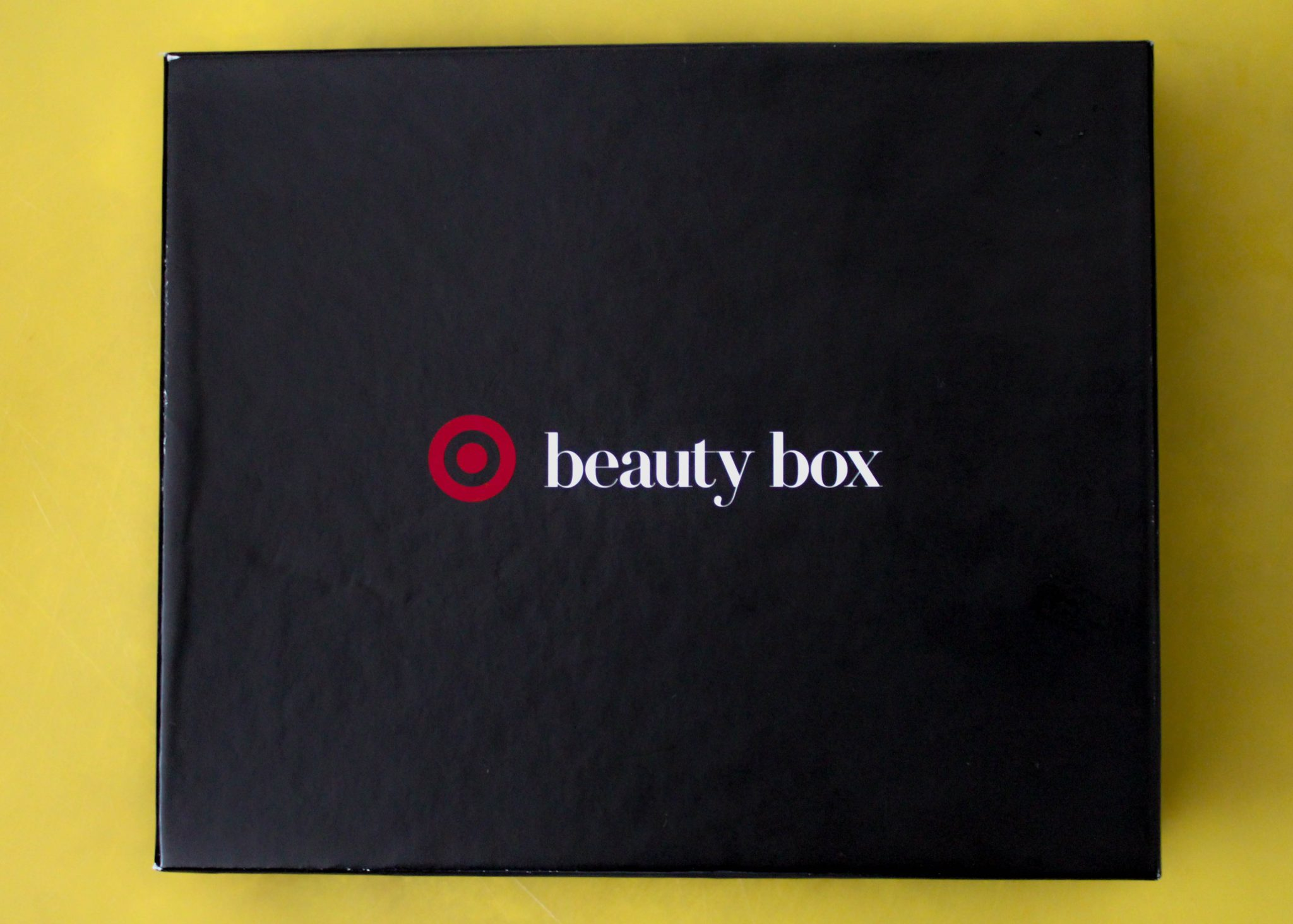 October Target Beauty Box on Sale now for under $10! graphic