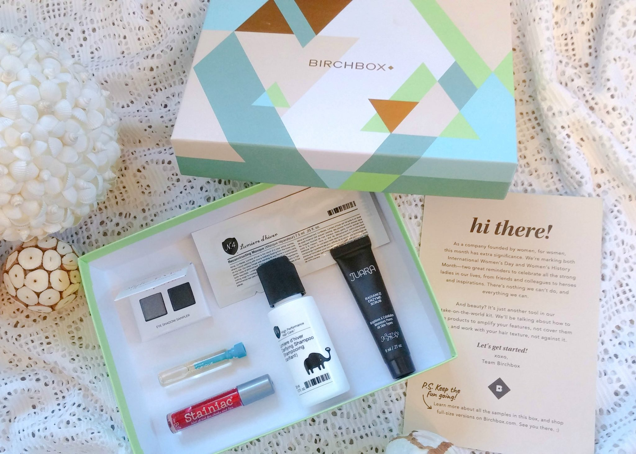 March Birchbox Unboxing (Spoilers) graphic