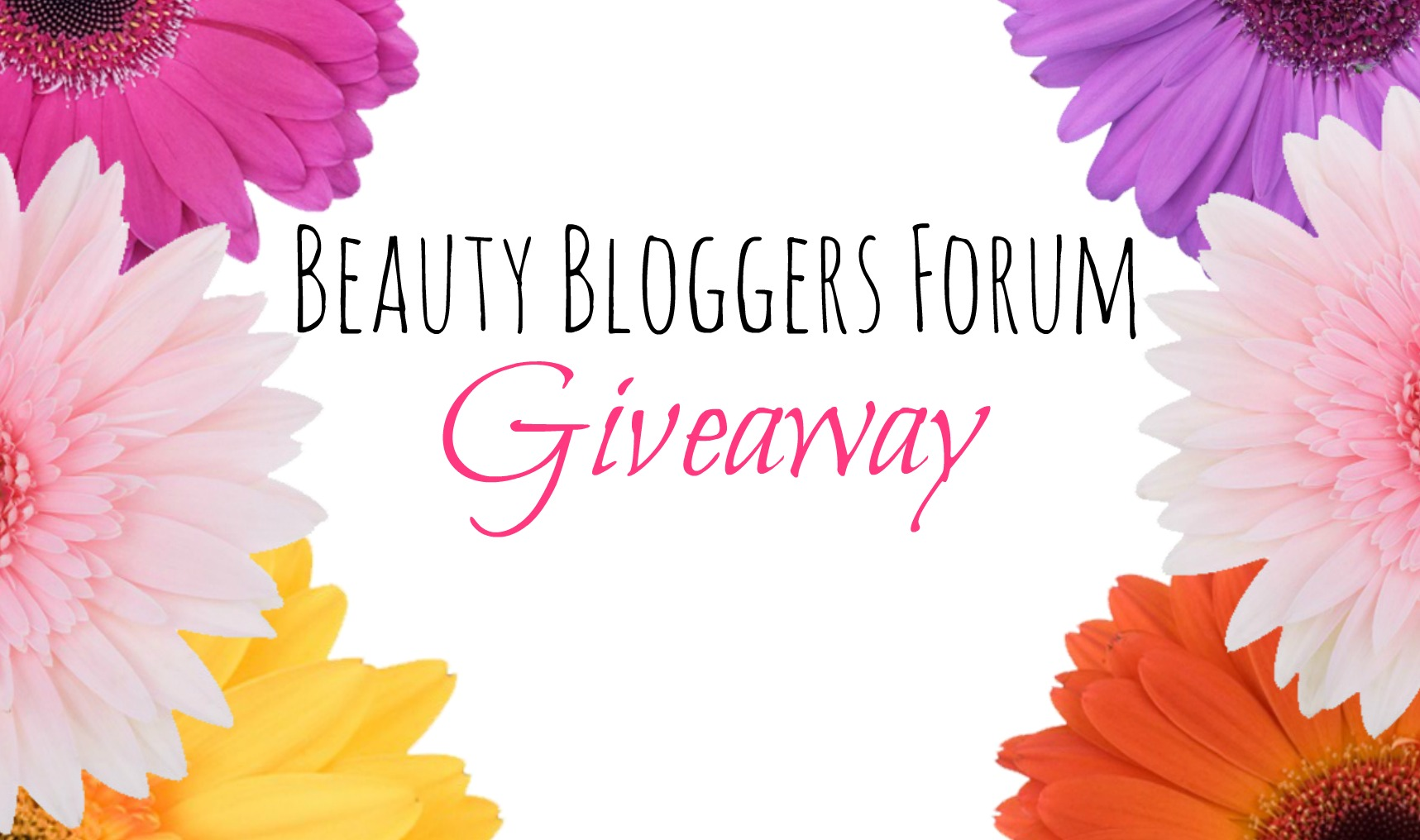 Enter Our 1st Beauty Bloggers Forum Giveaway for a free Target Beauty Box! graphic