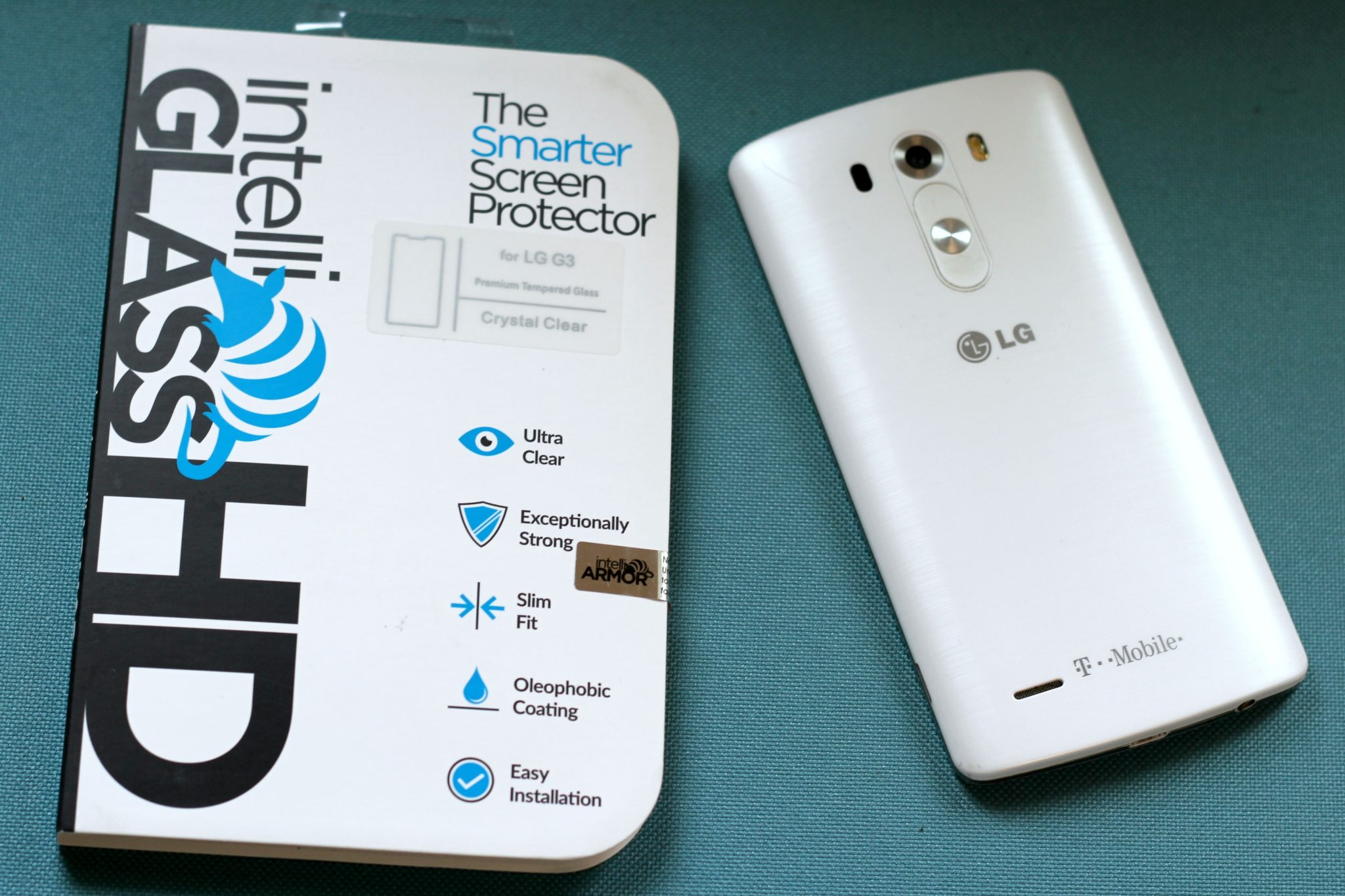 My intelliGLASS Smart Screen Protector is one fantastic product! graphic