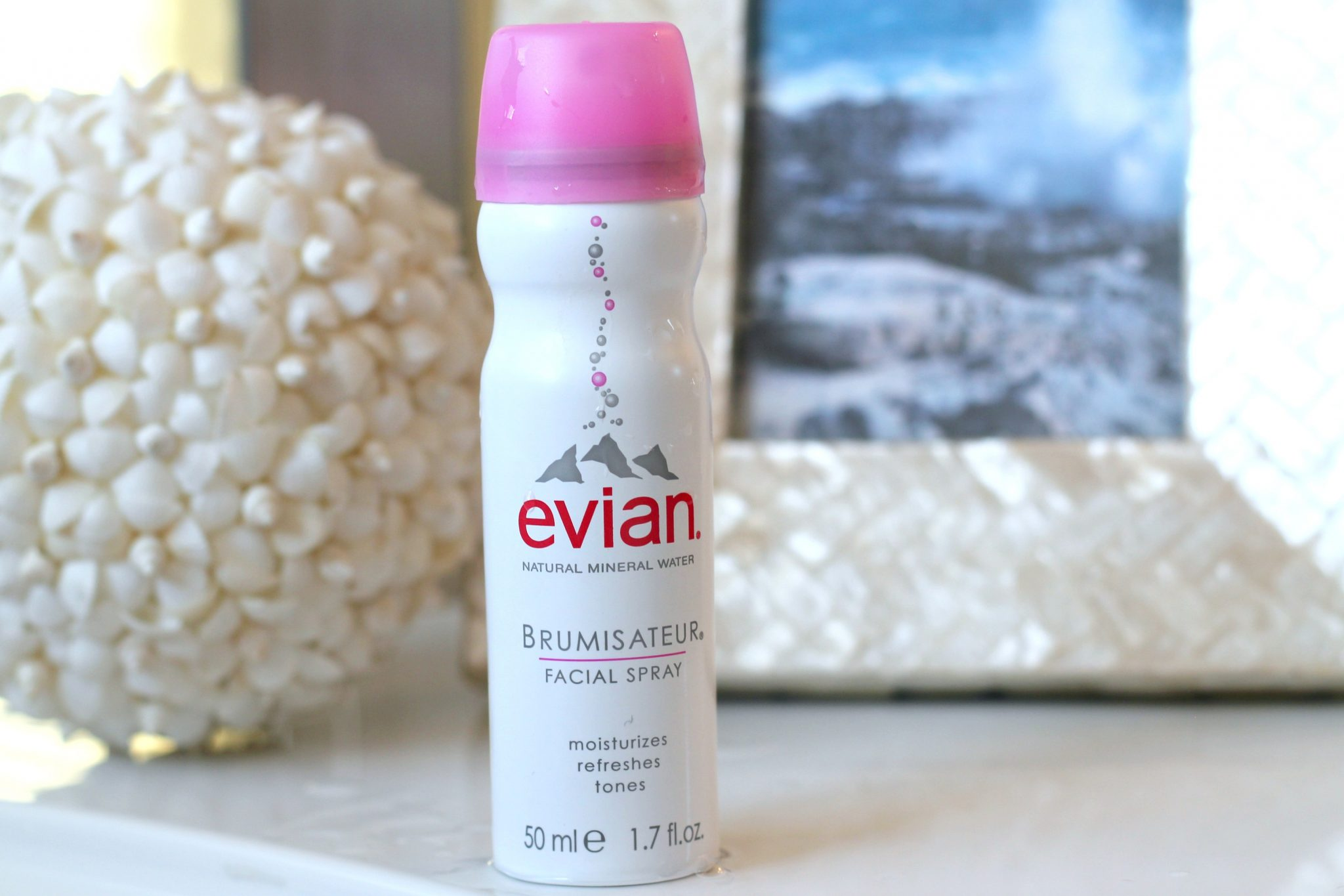 Evian Facial Spray is a Glowing Summer Skin Must-Have! graphic