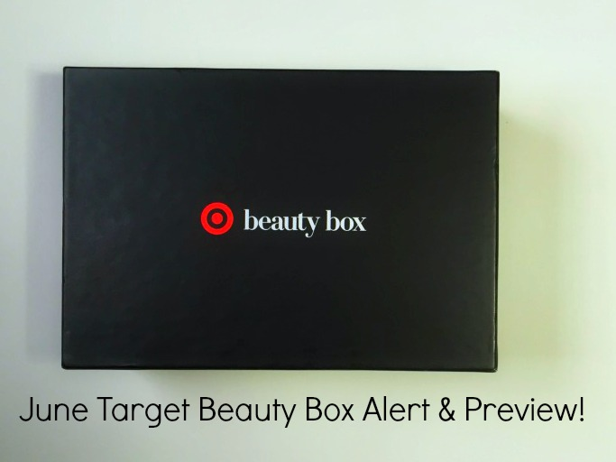 Hot New June Target Beauty Box Alert! graphic