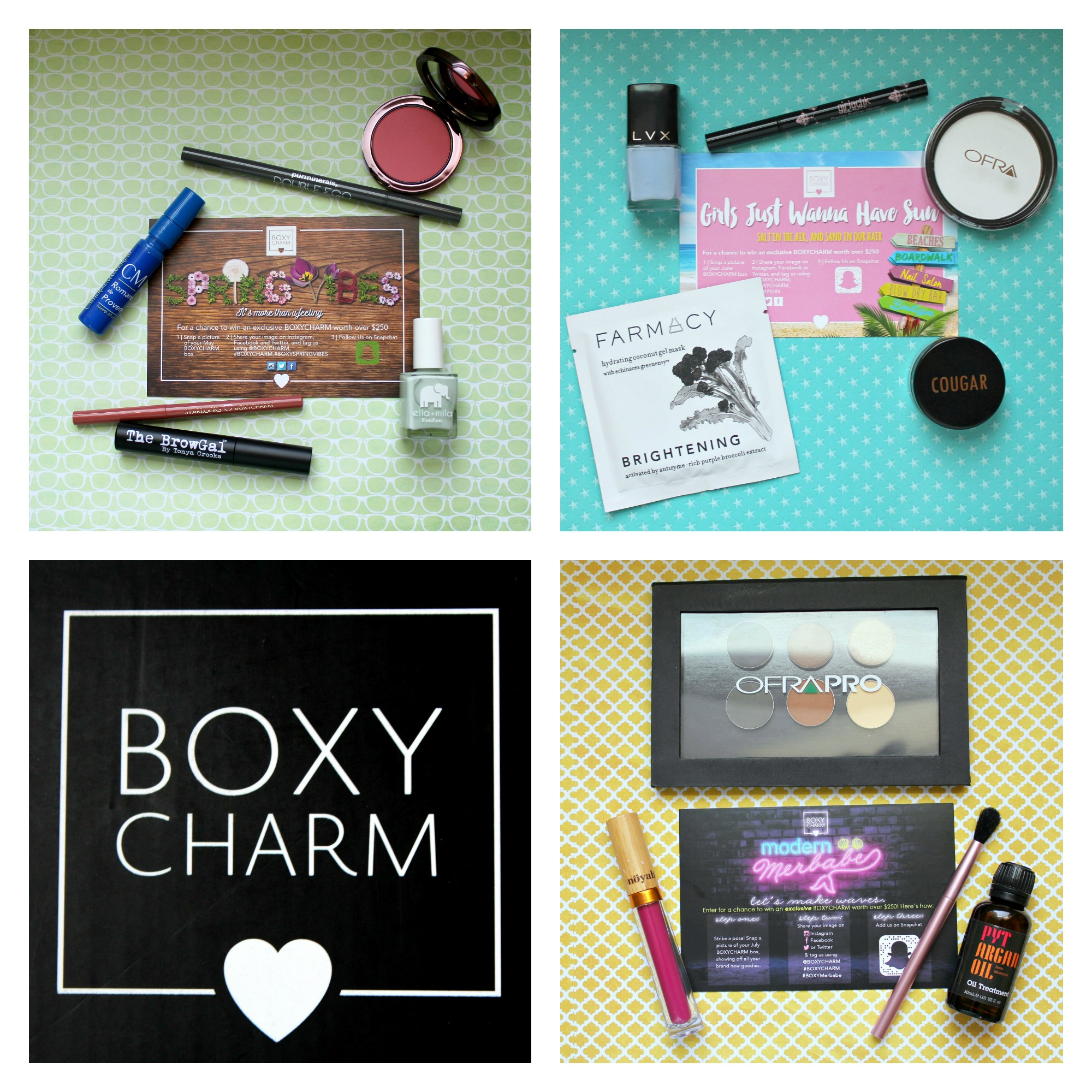 Battle of the Beauty Boxes Round Two: Boxycharm! graphic