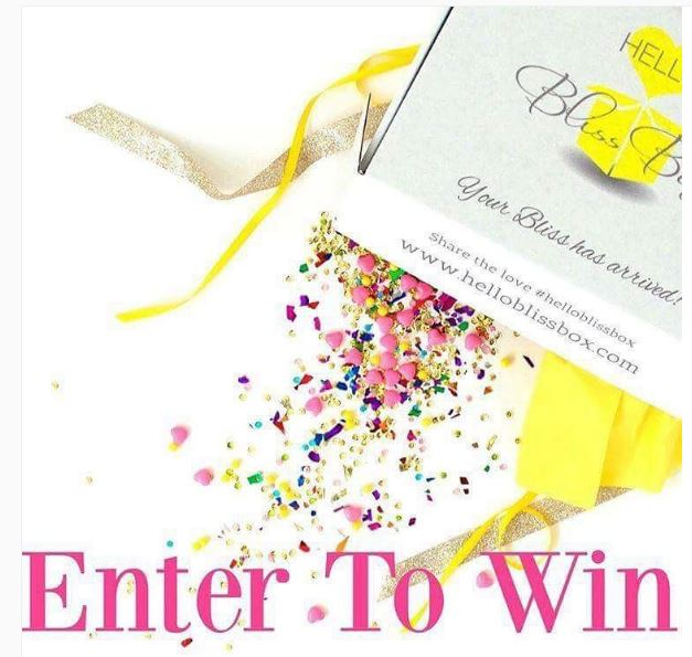 Enter our Hello Bliss Box Free Subscription Box Giveaway! graphic
