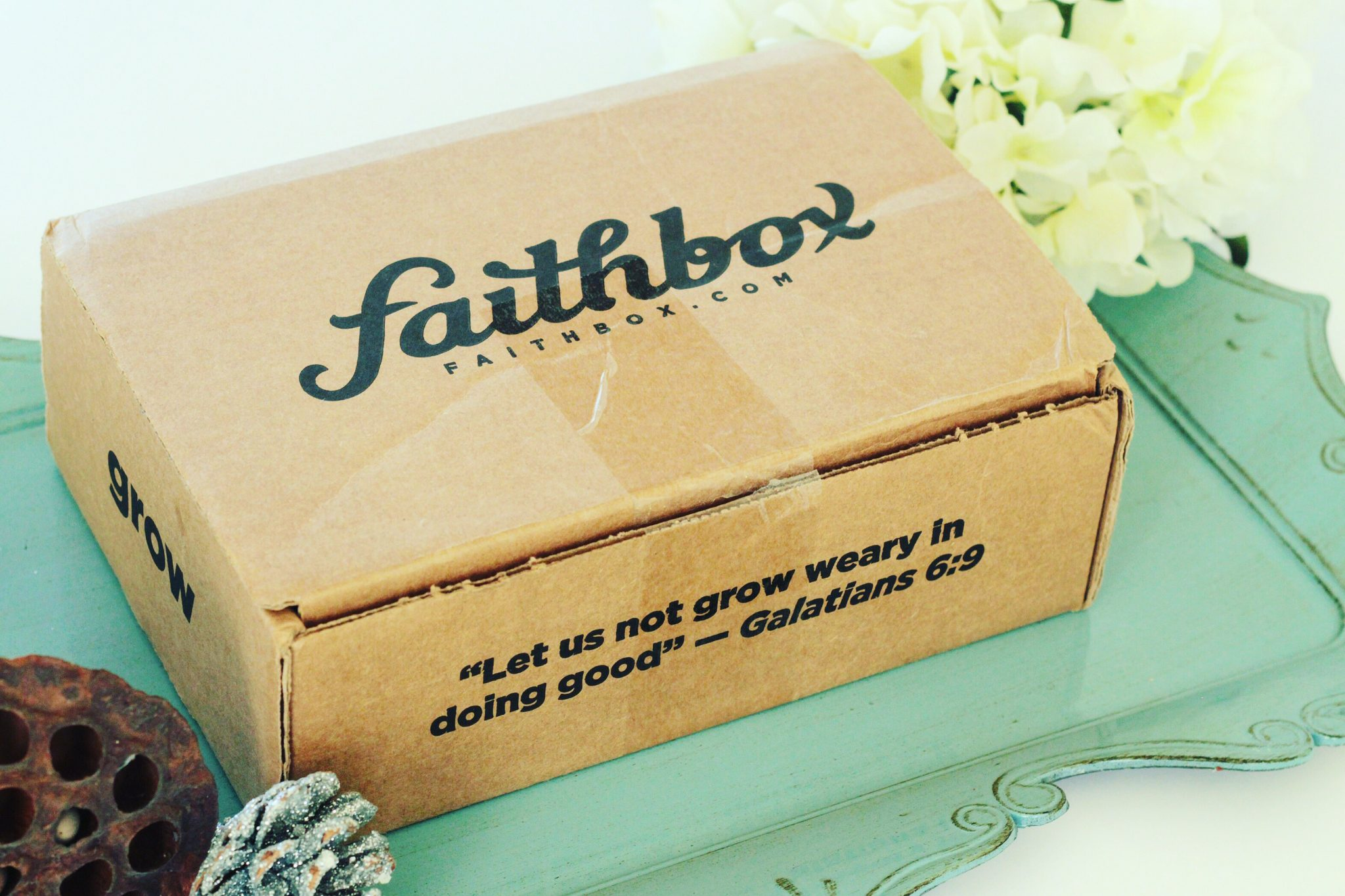 Box Alert! Unboxing and Review of Faithbox. graphic