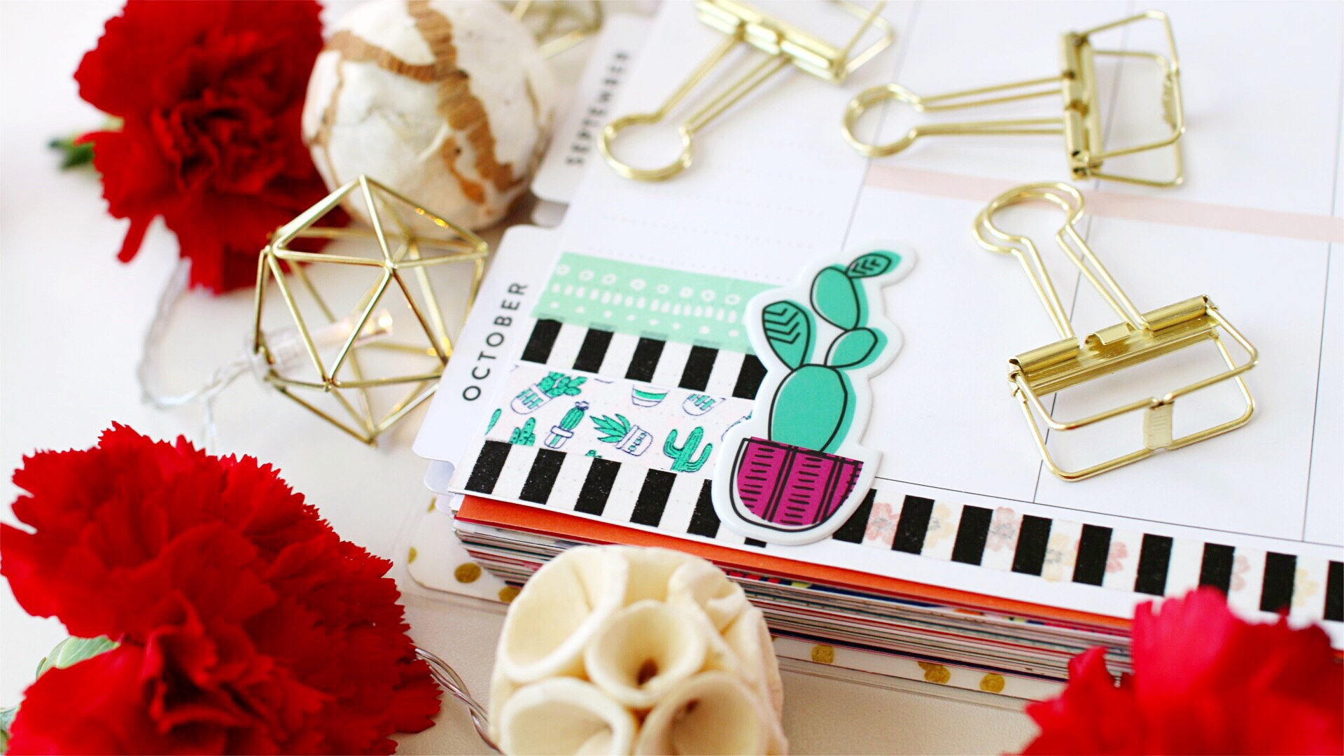 Top 10 Pinterest Ideas for Washi Tape in your Planner! graphic